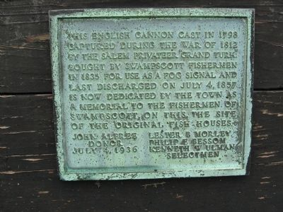 Captured English Cannon Marker image. Click for full size.