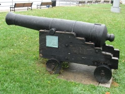 Captured English Cannon image. Click for full size.