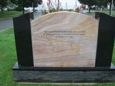 Swampscott Desert Shield - Desert Storm Monument image. Click for full size.