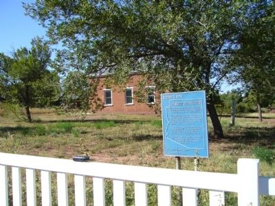 Shumway Schoolhouse Marker image. Click for full size.