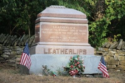 Leatherlips Marker Photo, Click for full size