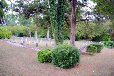 Fort Tyler Confederate Cemetery Photo, Click for full size