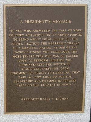 Plaque on Nearby Column image. Click for full size.