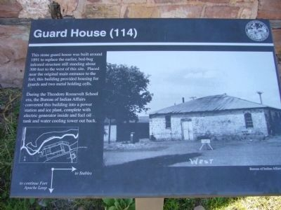 Guard House Marker image. Click for full size.