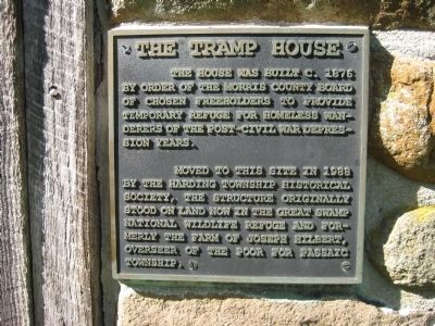 The Tramp House Marker image. Click for full size.