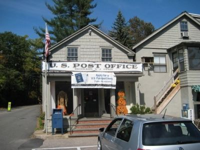 Brookside Post Office image. Click for full size.