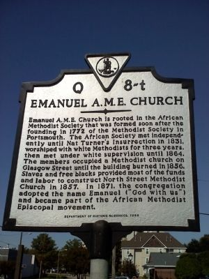 Emanuel AME Church Marker image. Click for full size.