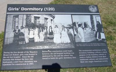 Girls' Dormitory Marker image. Click for full size.