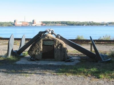Hudson River Reserve Fleet Marker Photo, Click for full size