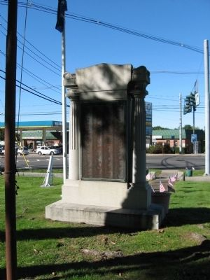 Haverstraw World War I Monument image. Click for full size.