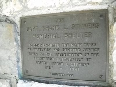 Shelter Plaque image. Click for full size.
