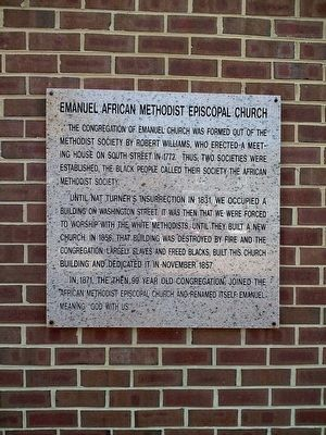 Emanuel African Methodist Episcopal Church image. Click for full size.