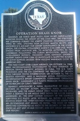 Operation Brass Knob Marker image. Click for full size.