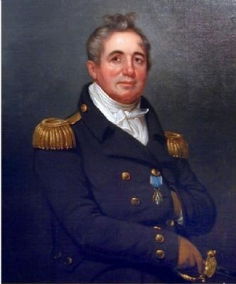 Commodore Joshua Barney by Rembrandt Peale (1819) Photo, Click for full size