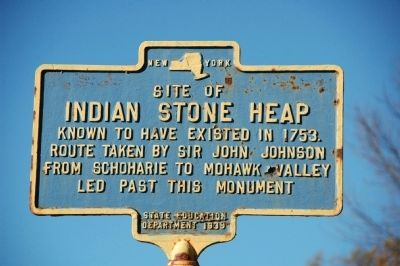 Indian Stone Heap Marker image. Click for full size.