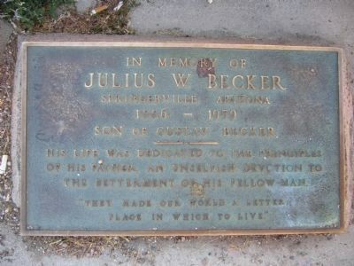 Marker to the right of Becker Butte Lookout Marker image. Click for full size.