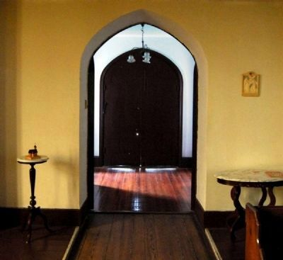 Trinity Episcopal Church Interior -<br>Vestibule (Northeast Entrance) image. Click for full size.