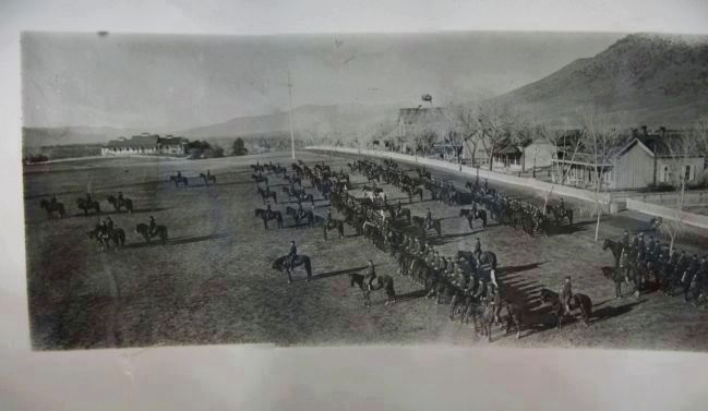 5th Cavalry at Parade Ground image. Click for full size.