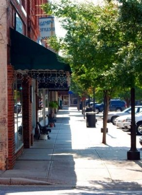 Belton Downtown -<br>River Street Looking South Photo, Click for full size
