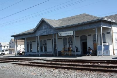 Harrington Railroad Yard Station image. Click for full size.