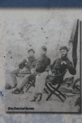 Capt. William A Sutherland, USA (Center) image. Click for full size.