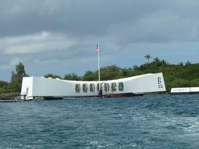 U.S.S. Arizona Memorial Photo, Click for full size