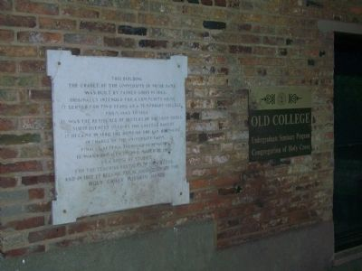 Old College Marker image. Click for full size.