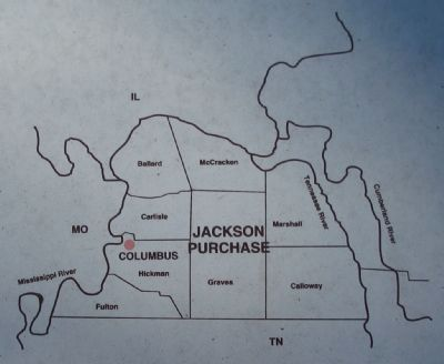 Map of the Jackson Purchase Photo, Click for full size