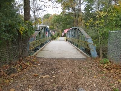 Bridge leading to the TISCO Complex Photo, Click for full size