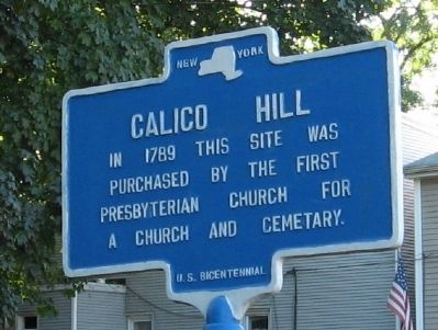 Calico Hill Marker image. Click for full size.