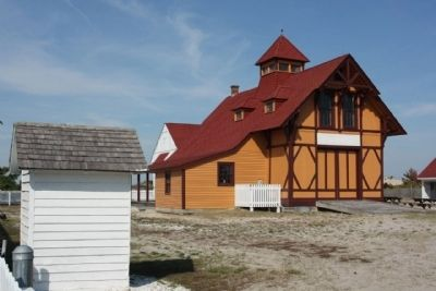 Indian River Life-Saving Station , todays look image. Click for full size.