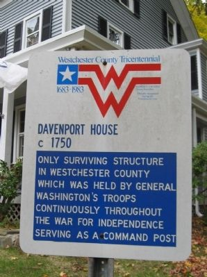 Davenport House Marker image. Click for full size.