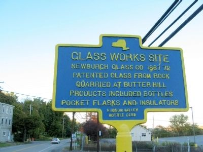 Glass Works Site Marker image. Click for full size.