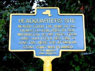 Headquarters Site Marker image. Click for full size.