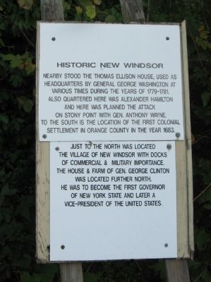 Historic New Windsor Marker image. Click for full size.