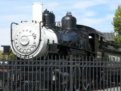 Southern Pacific Railroad No. 2252 Steam Locomotive image. Click for full size.