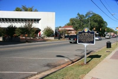 Welcome To Historic Montevallo Marker (North View) image. Click for full size.