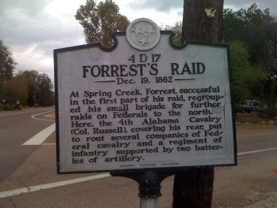 Forrest's Raid Marker image. Click for full size.