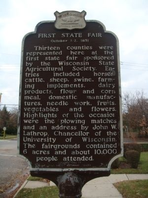 First State Fair Marker image. Click for full size.
