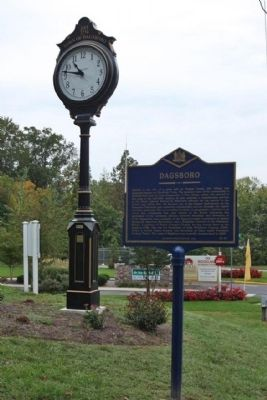 Dagsboro Marker Photo, Click for full size