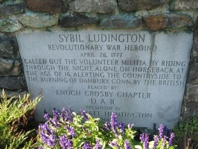 Sybil Ludington image. Click for full size.