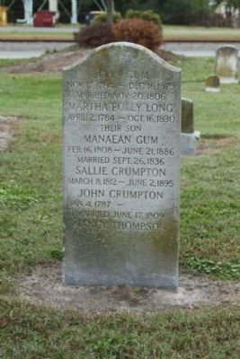 Frankford United Methodist Church Cemetery, a headstone from 1875 image. Click for full size.