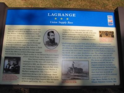 LaGrange Marker Photo, Click for full size