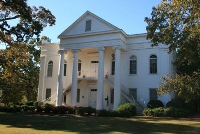 Reynolds Hall built in 1851 and first used by the Montevallo Male Institute. image. Click for full size.