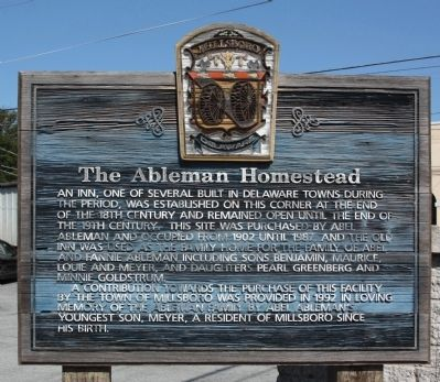 The Ableman Homestead Marker image. Click for full size.