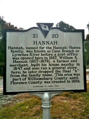 Hannah Marker (front) image. Click for full size.