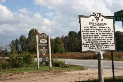 Sign Near Marker Location image. Click for full size.