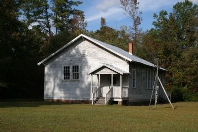 Mt. Zion Rosenwald School image. Click for full size.