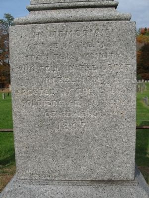 Somers Soldiers Memorial image. Click for full size.