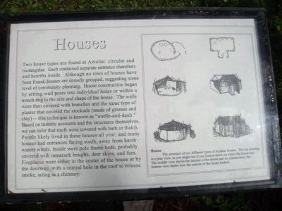 Houses Marker Photo, Click for full size